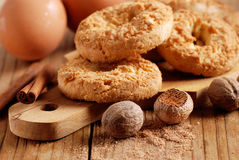 Cookies with spices Stock Photo