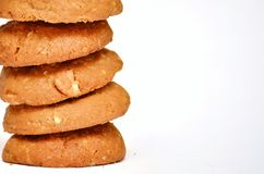 Cookies. Stacked of cookies Royalty Free Stock Photo