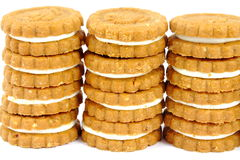 Cookies stacks Stock Photos