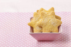 Cookies in star shape Stock Images