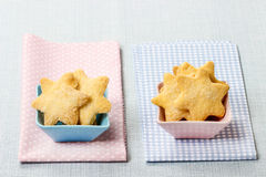 Cookies in star shape Royalty Free Stock Image