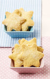 Cookies in star shape Royalty Free Stock Photos