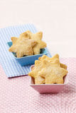 Cookies in star shape Stock Photography