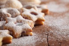 Cookies and sugar Stock Photo
