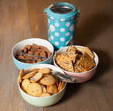 Cookies on the table Royalty Free Stock Images