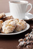 Cookies and tea Royalty Free Stock Photo