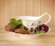 Cookies and Tea Stock Photos