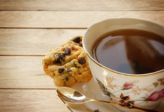 Cookies and Tea Stock Photography
