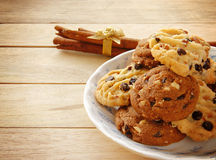 Cookies and Tea Royalty Free Stock Photography