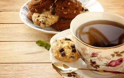 Cookies and Tea Royalty Free Stock Photos