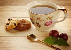 Cookies and Tea Stock Image