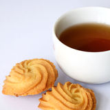 Cookies and Tea. Stock Images
