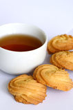 Cookies and Tea. Royalty Free Stock Photo