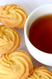 Cookies and Tea. Royalty Free Stock Photography