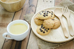Cookies and tea Royalty Free Stock Image