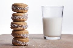 Cookies Tower Royalty Free Stock Photography