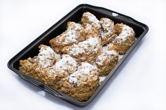 Cookies in a tray Stock Image