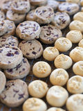 Cookies on a Tray Stock Photography