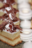 Cookies turcas com marshmallows Fotografia de Stock