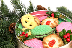 Cookies Under the Tree Royalty Free Stock Photo