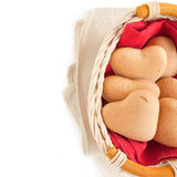 Cookies for Valentine's Day Stock Photos