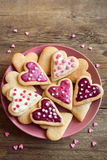 Cookies for Valentine`s day Stock Image