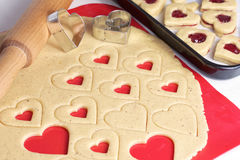 Cookies for Valentines Day Stock Photo