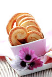 Cookies with vanilla sugar Royalty Free Stock Images