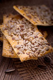 Cookies with various seeds Stock Photography
