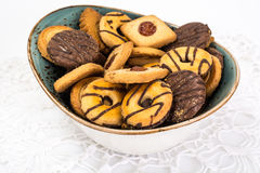 Cookies in the vase. Studio Photo Stock Photography