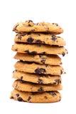 Cookies on white background Stock Photos