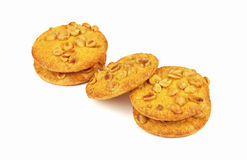 Cookies on a white background Royalty Free Stock Photography