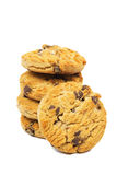 Cookies. The cookies on white background Royalty Free Stock Photos