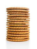 Cookies. On a white background Stock Photography
