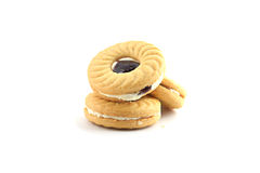 Cookies. On a white background Stock Images