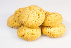Cookies on a white background. Stock Image