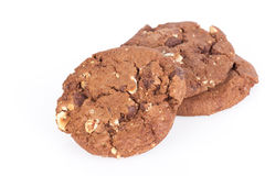 Cookies on white background Stock Photography