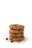 Cookies  on a White Background Royalty Free Stock Images