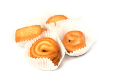 Cookies on a white background Stock Photography