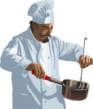 Cooking. High quality, high resolution, digitally painted illustration vector illustration