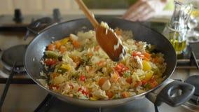 cooking almacen de metraje de vídeo
