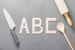 Cooking ABC Royalty Free Stock Photo