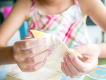 Cooking activity Royalty Free Stock Photography