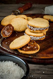 Cooking alfajores Royalty Free Stock Photos