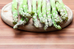 Cooking asparagus Stock Photography