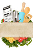 Cooking background Royalty Free Stock Photo