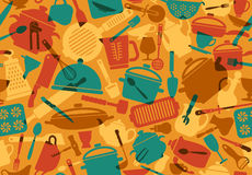 Cooking background royalty free illustration