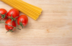 Cooking background spaghetti Royalty Free Stock Photo