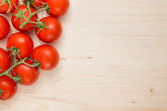 Cooking background with tomatoes Royalty Free Stock Photo