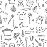 Cooking background Royalty Free Stock Images